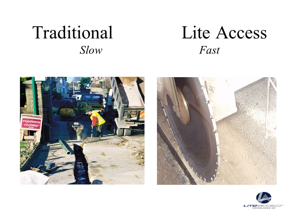 Traditional Lite Access Slow Fast