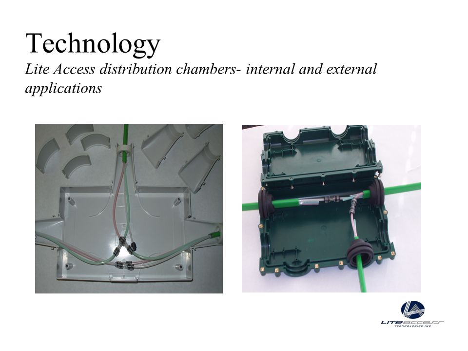 Technology Lite Access distribution chambers- internal and external applications