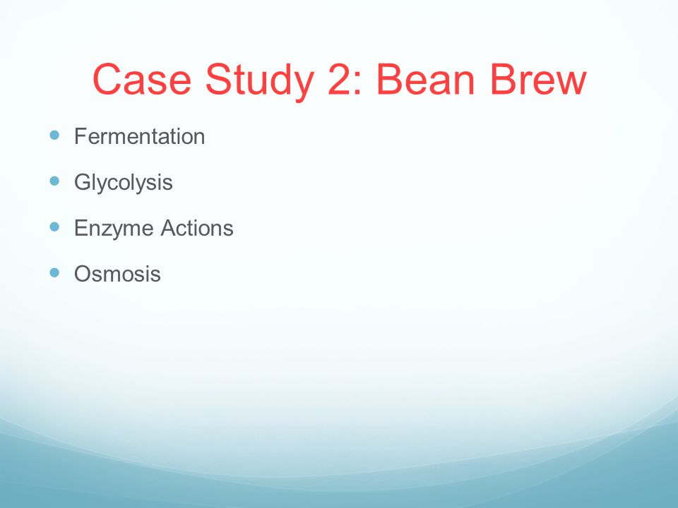 Ap Biology Case Study Bean Brew Answers   Solution  Analysis     Case Solutions com
