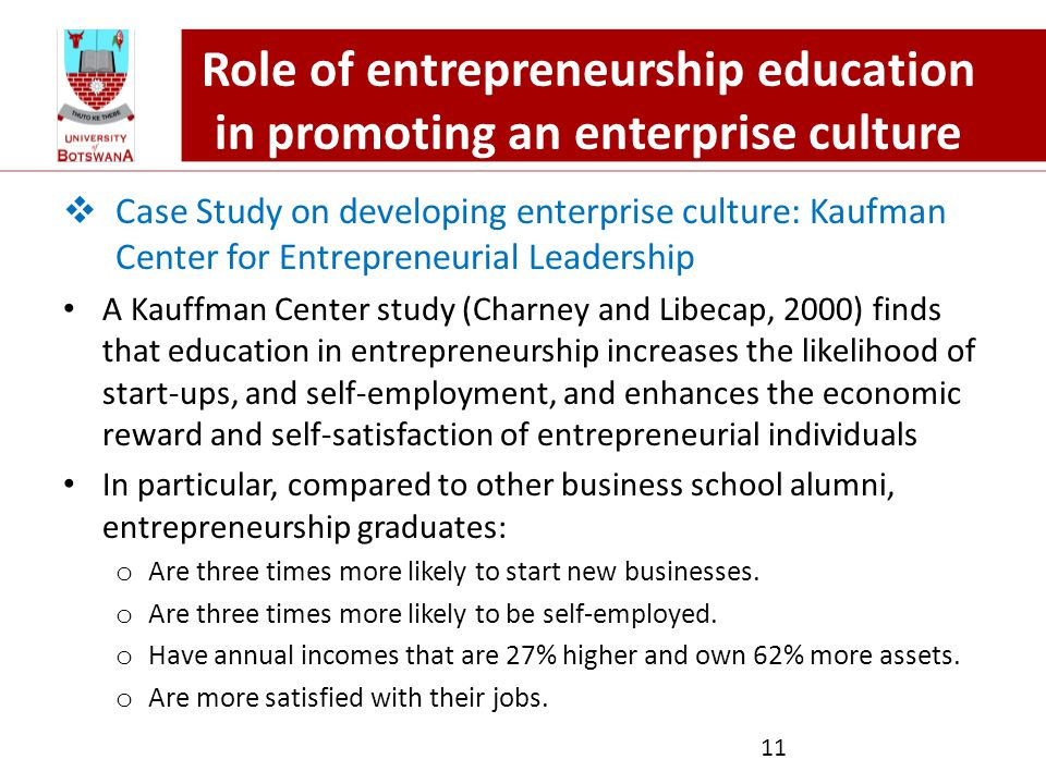 entrepreneurship education development eed Entrepreneurship education (eed) at bachelor level in developing countries such as local socio-economic conditions and degree of technological development in.