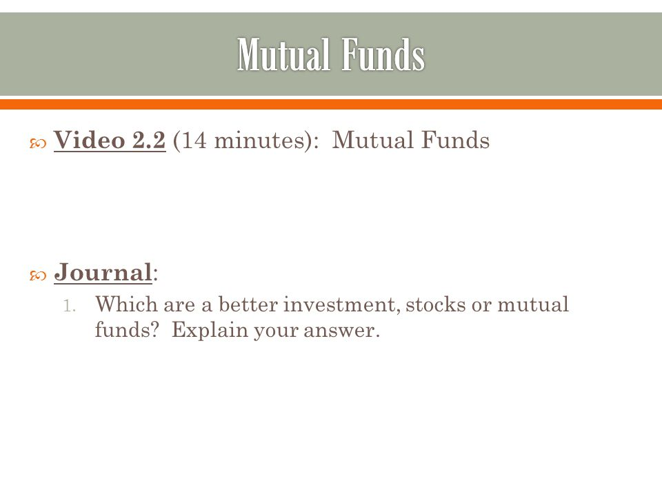 What are the Different Types of Investment Funds?