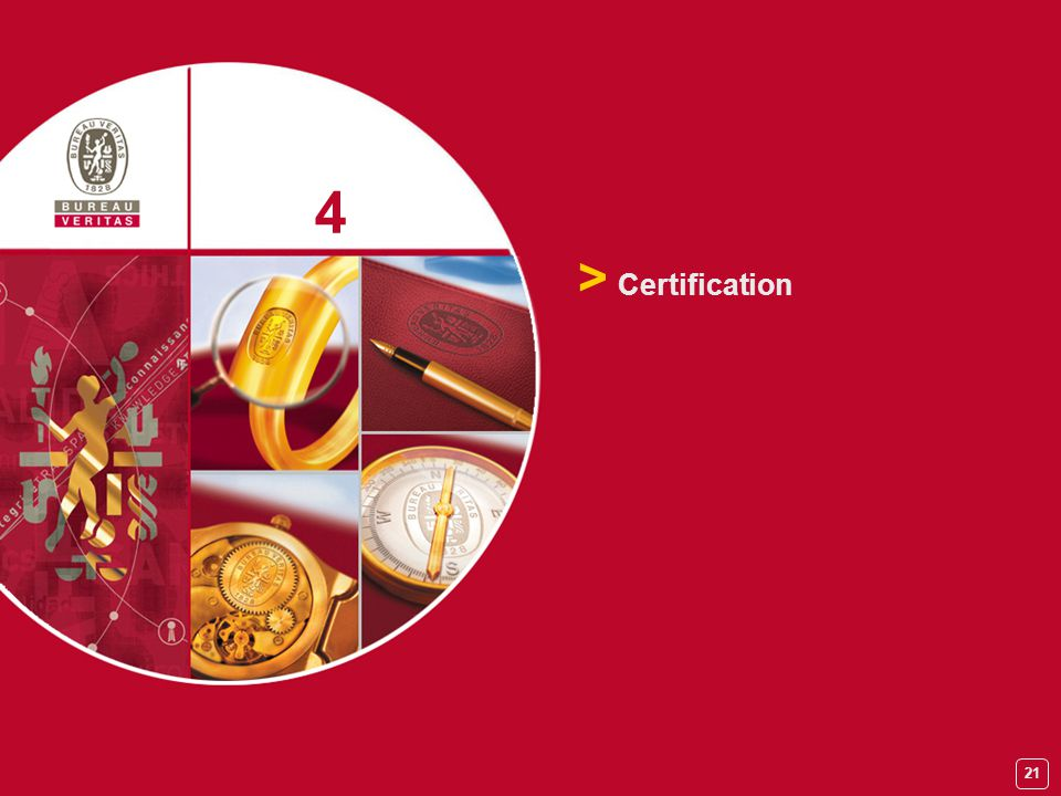 4 > Certification