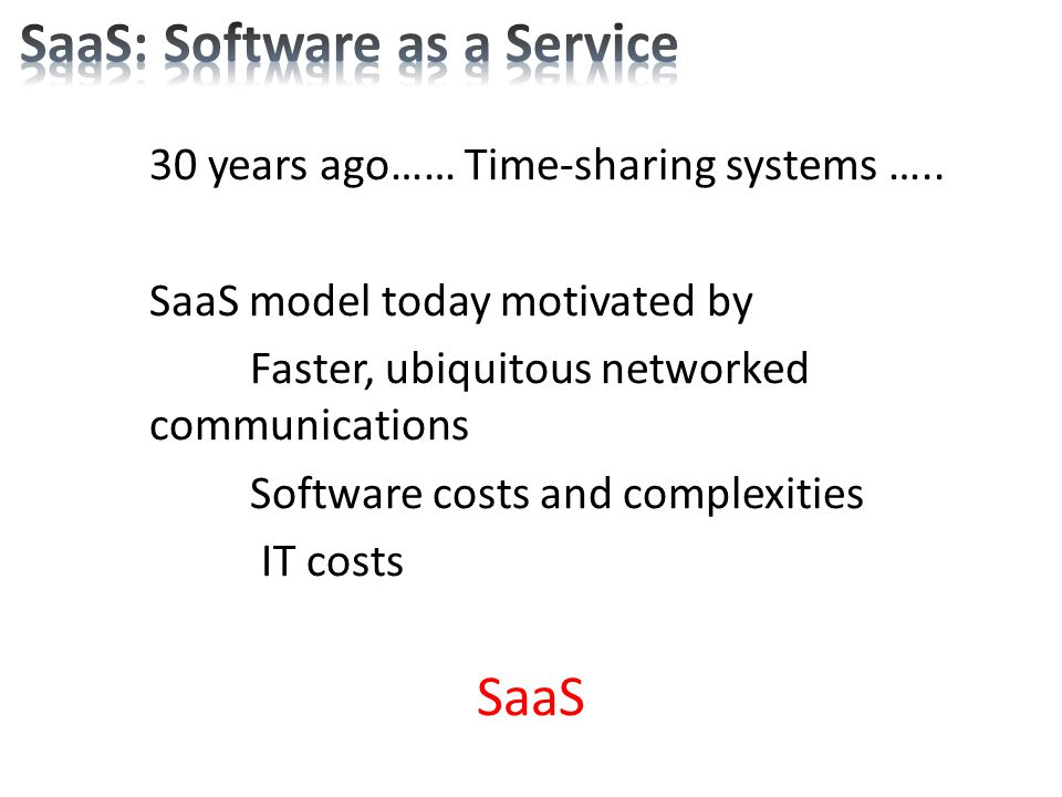 how to host a saas application