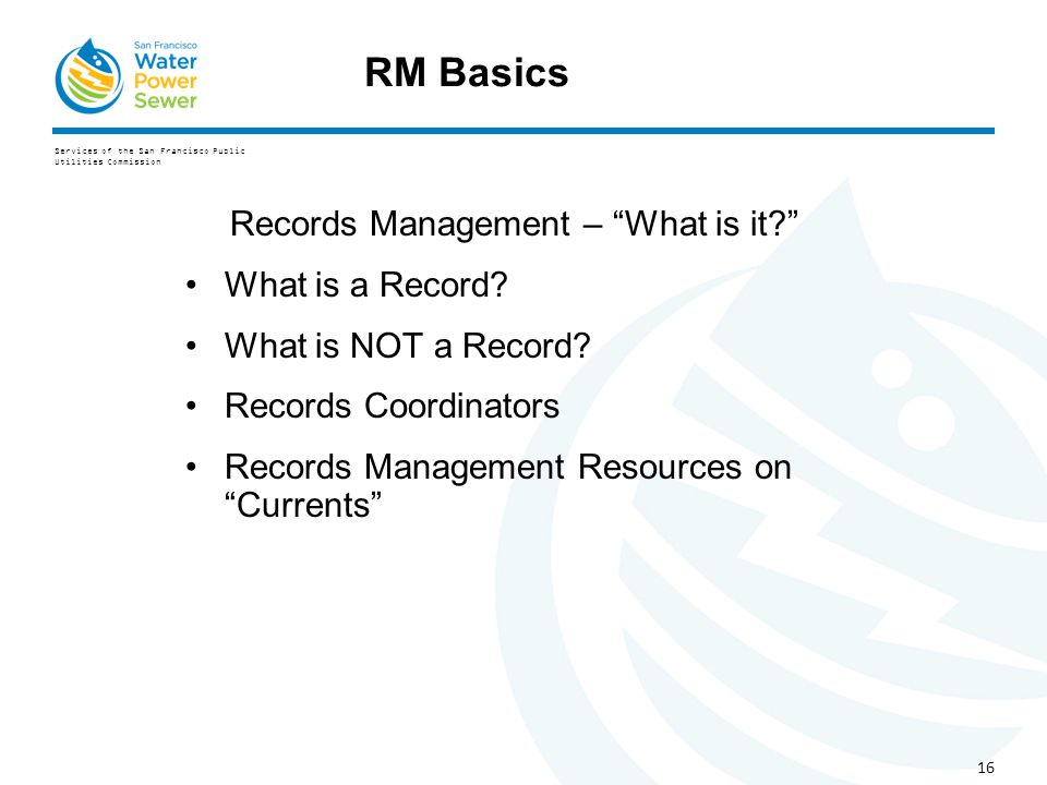 what is the relationship between archives and records management