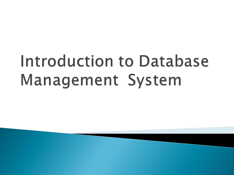 introduction to hotel system dbms Dbms introduction - a database management system (dbms) refers to the technology for creating and managing databases basically dbms is a software tool to organize (create, retrieve, update and manage) data in a database.