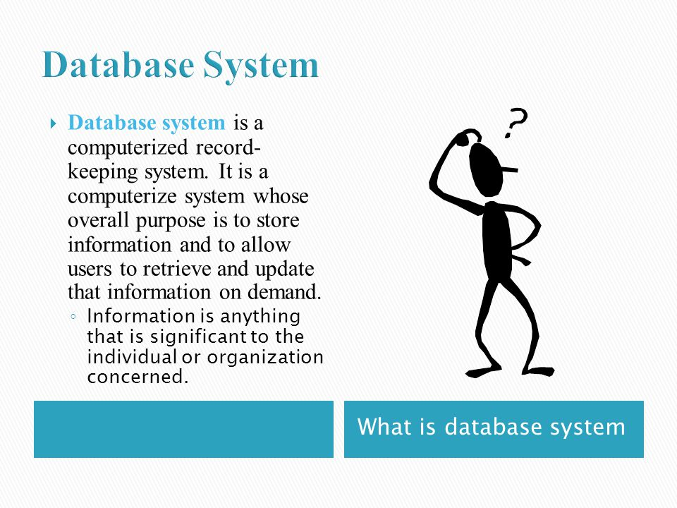 Brief Introduction to Database Systems