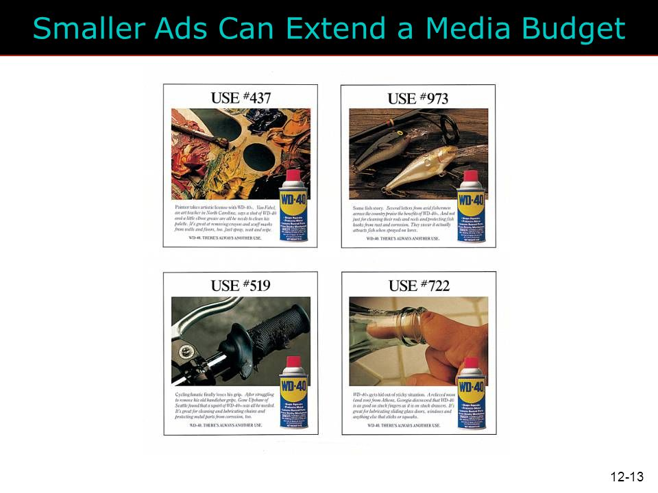 Smaller Ads Can Extend a Media Budget