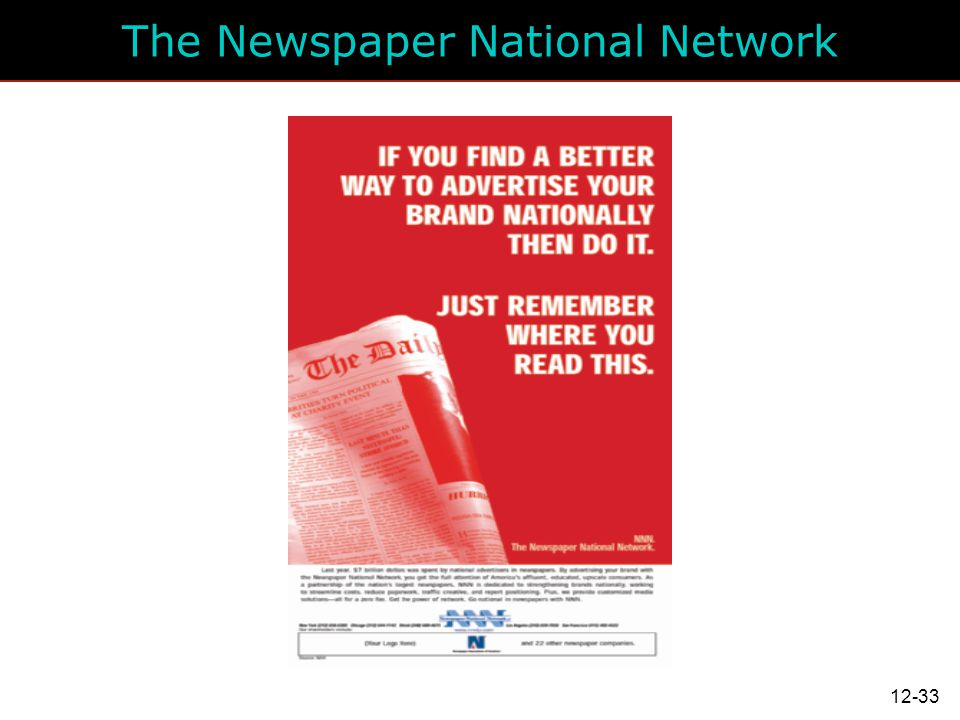 The Newspaper National Network