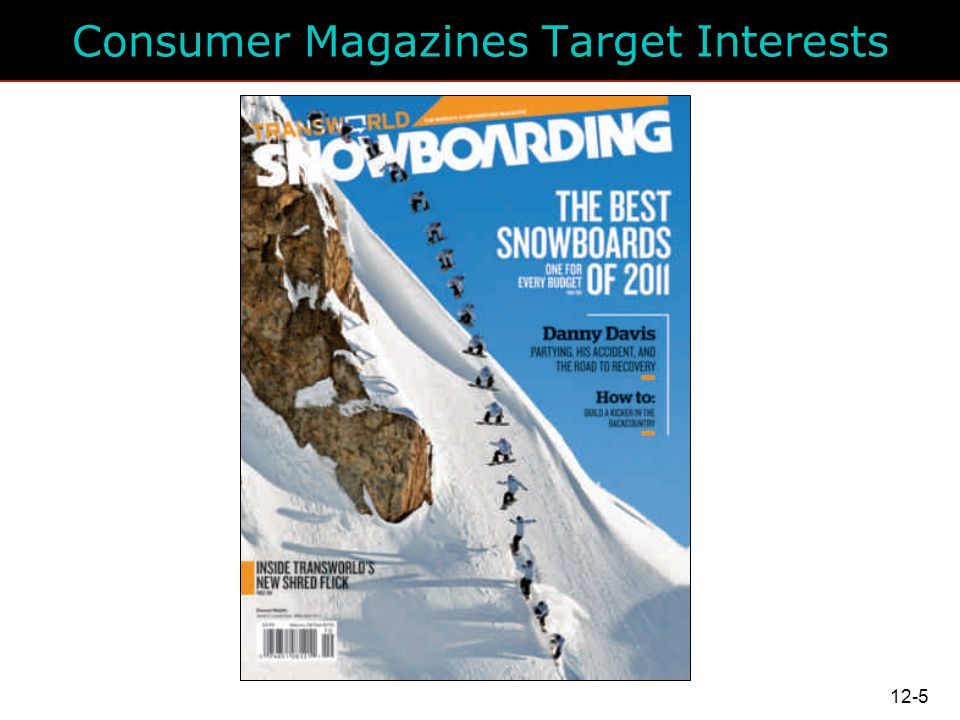 Consumer Magazines Target Interests