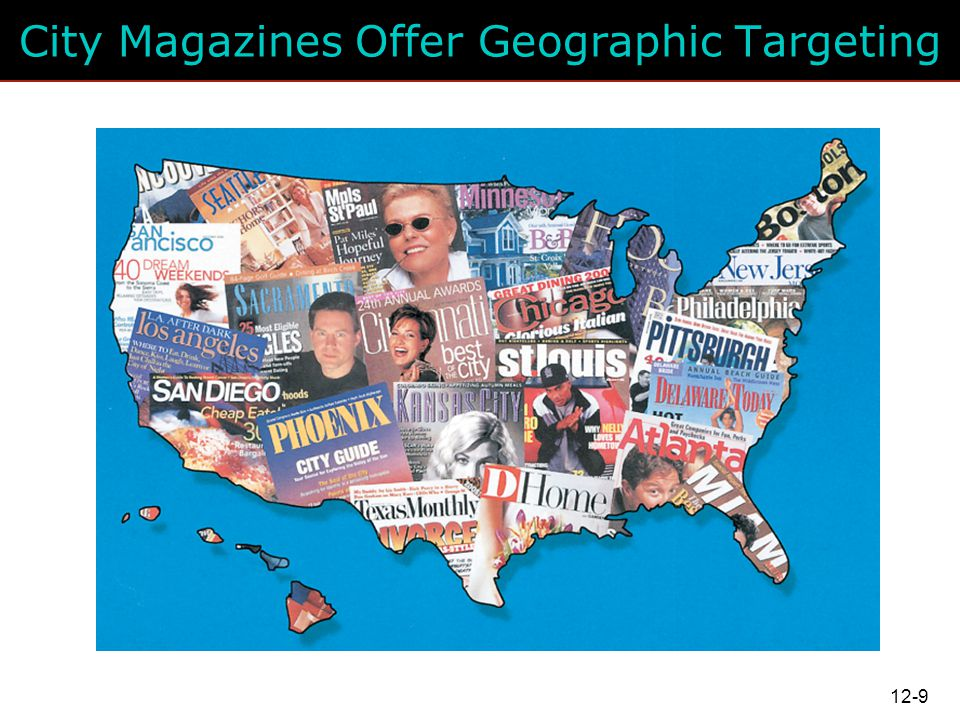 City Magazines Offer Geographic Targeting