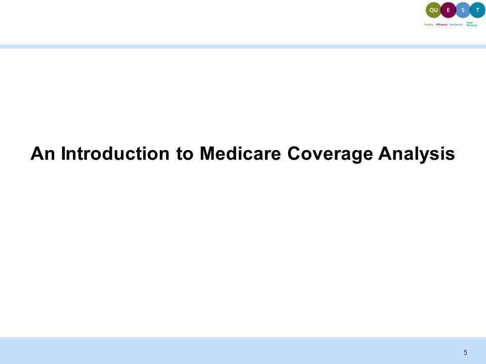 Understanding Medicare Coverage Analysis for Clinical Trials