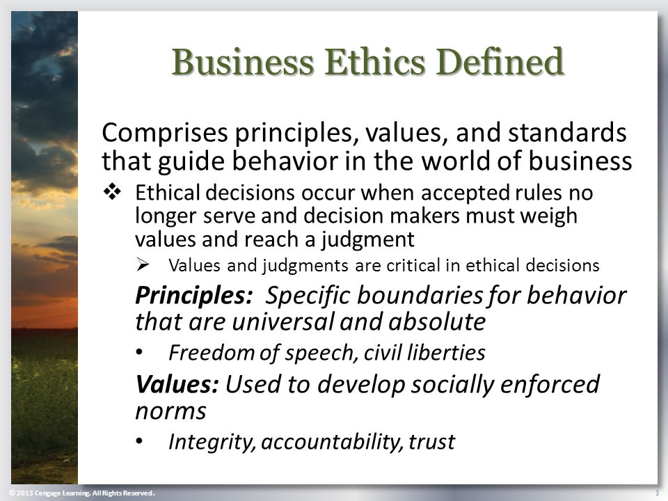 bribery business ethics and ethical decision The leader's choice--five steps to ethical decision making society for business ethics: working to counter corruption and bribery.