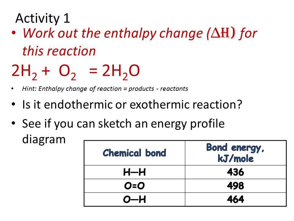 Txu Energy Plans >> Enthalpy Change Bond Energy - Energy Etfs