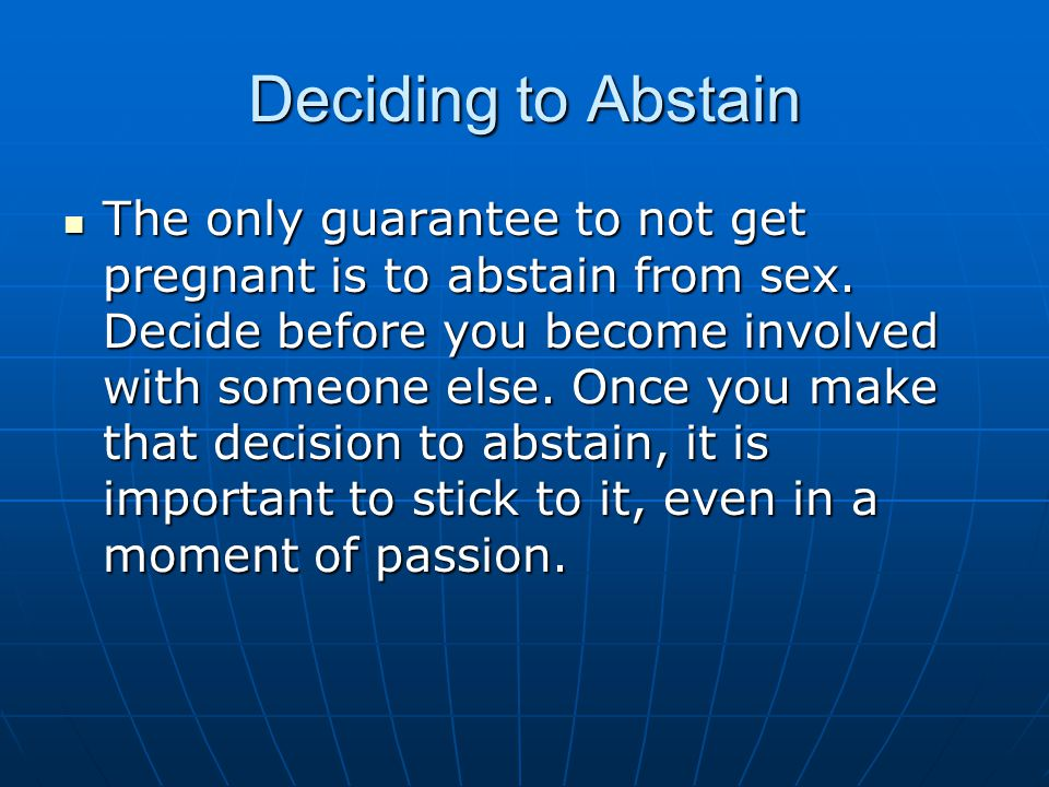 Deciding to Abstain