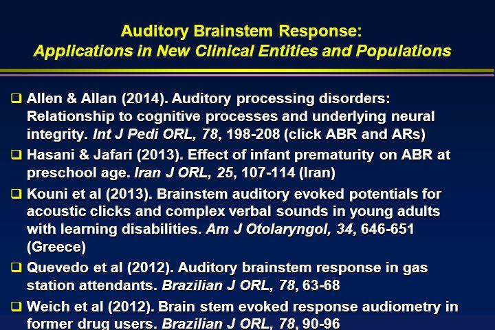 Auditory brainstem response to complex sounds: a tutorial