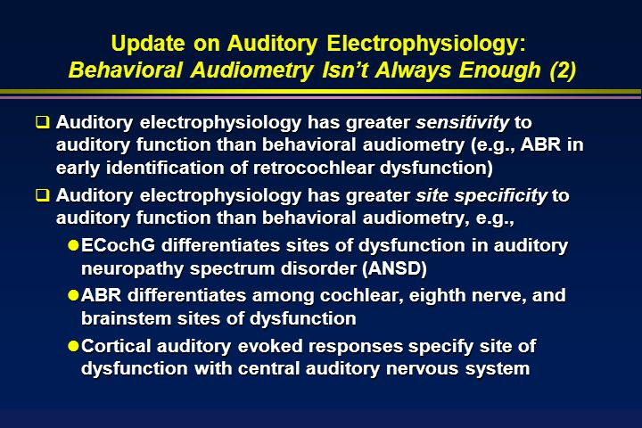An introduction to auditory neuropathy
