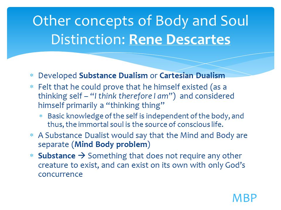 rene descartes mind body essay