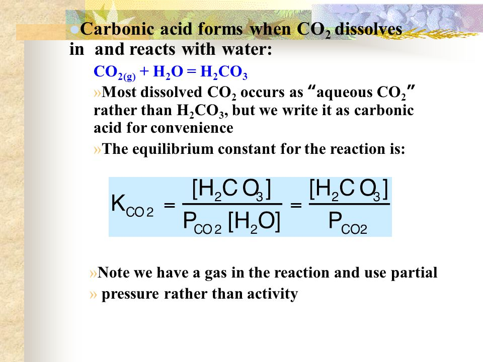 Learning goals Know the carbon atom Where acid rain comes from ...