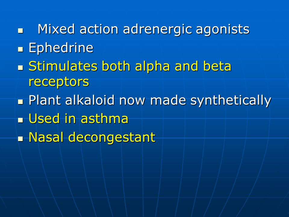 Adrenergic Agonists Samuel Aguazim Md Ppt Download