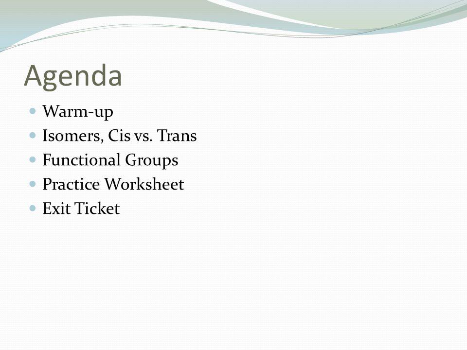 Organic Functional Groups ppt download – Functional Groups Worksheet