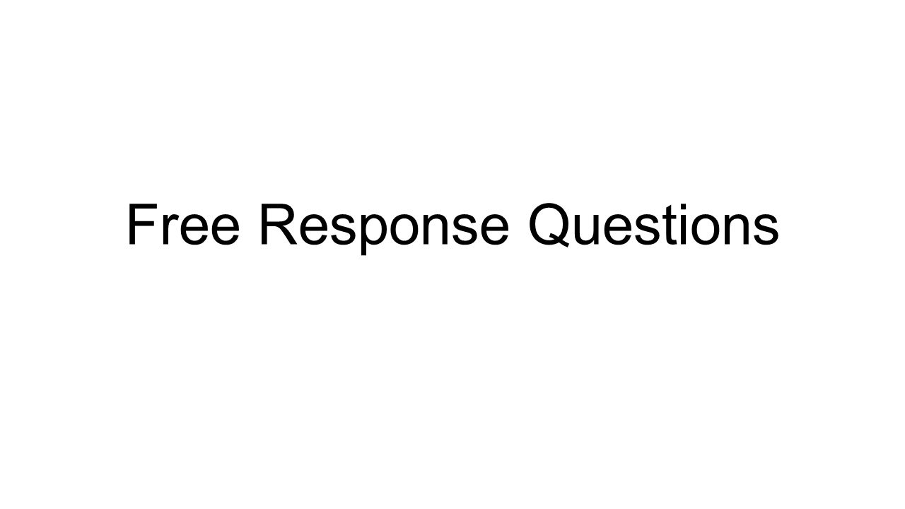 free response questions Explore timing and format for the ap statistics, and review sample questions, scoring guidelines for free-response questions from prior exams.
