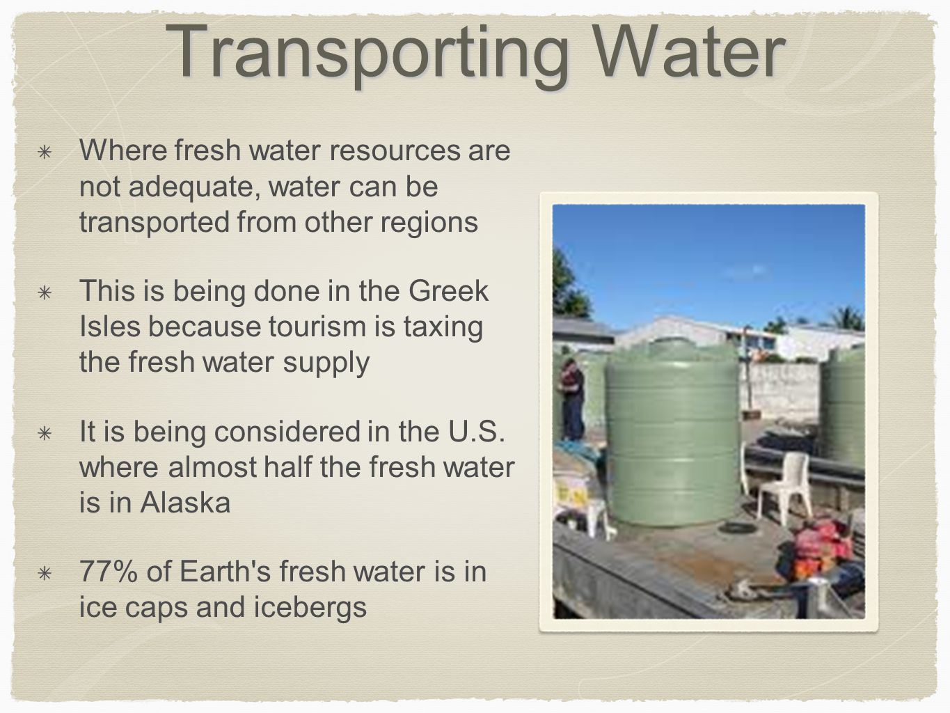 Describe The Drinking Water Treatment Process In Your Own Words
