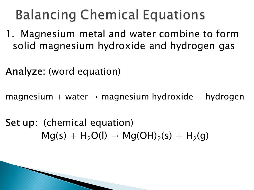 Chapter 6: Chemical Reactions and Equations - ppt download