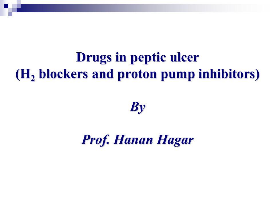 H2 blocker and proton pump inhibitor