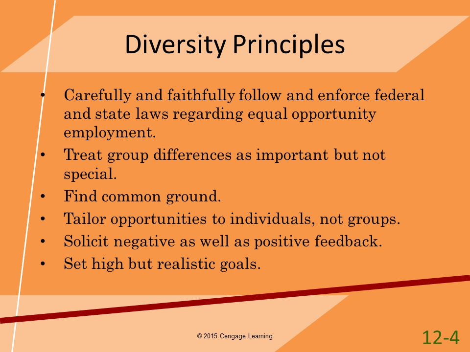 principles of diversity The california psychologist vol xxxvi november/december 2003 number six diversity in psychology prstd std us postage paid permit# 1467 ft worth, texas table of contents from the editor barry l gordon, phd special section: diversity in psychology this edition of the california 8 introduction to.