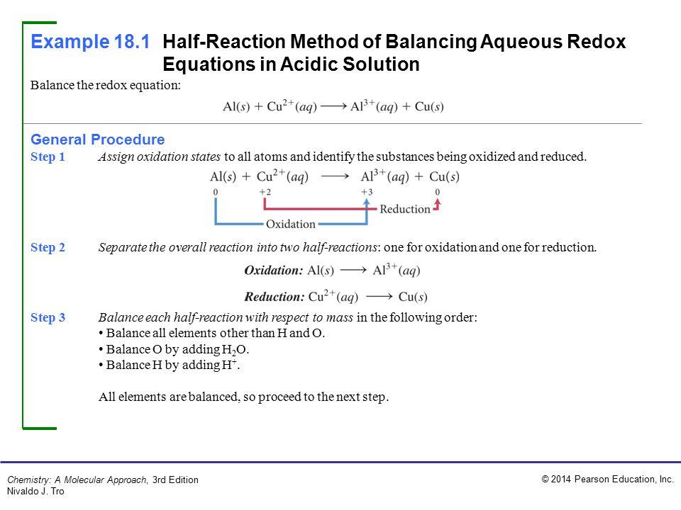 balance the redox equation general procedure ppt video online download. Black Bedroom Furniture Sets. Home Design Ideas