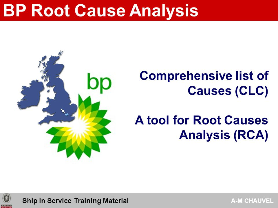 Bp Root Cause Analysis Comprehensive List Of Causes (Clc) - Ppt