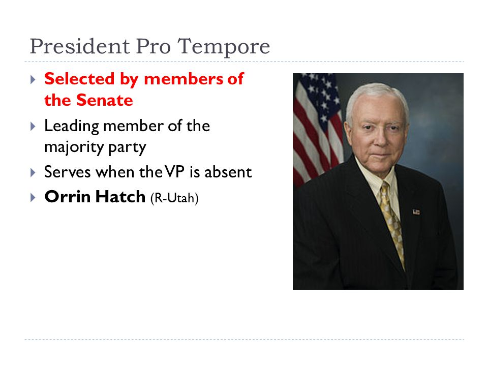 "Bell ringer Summarize how the ""political machine"" and the ... President Pro Tempore Seal"