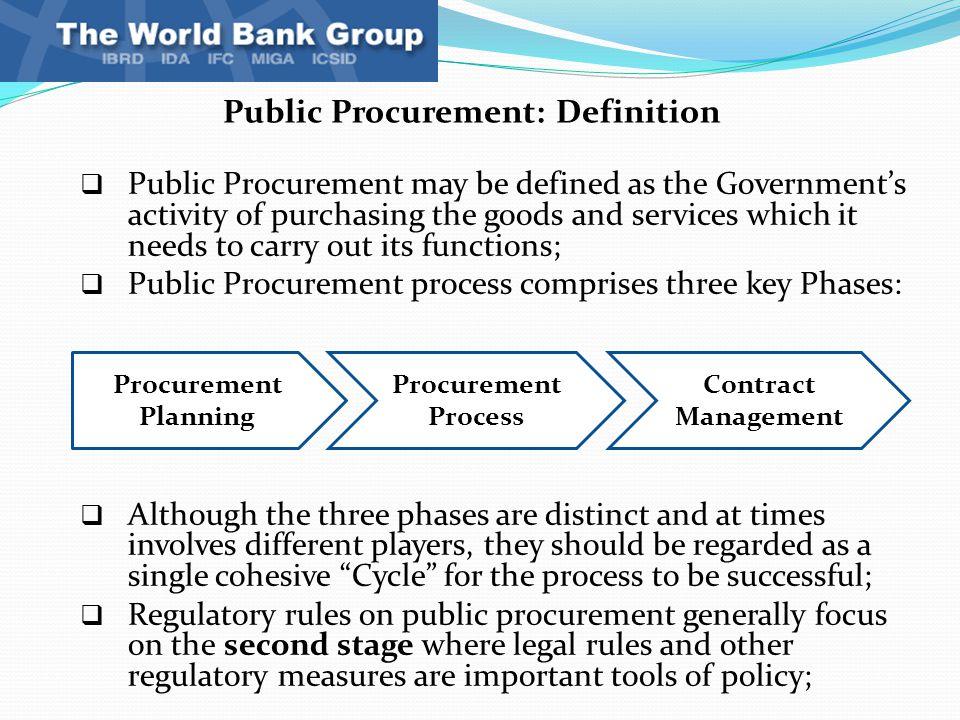 Procurment Data Acquisition Principles : Introduction to public procurement basic principles and