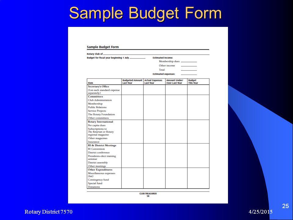 Sample Monthly Treasurers Report  Amazon S3