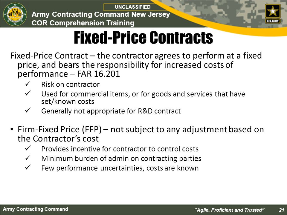 Cor class course introduction ppt download for Fixed price construction contract