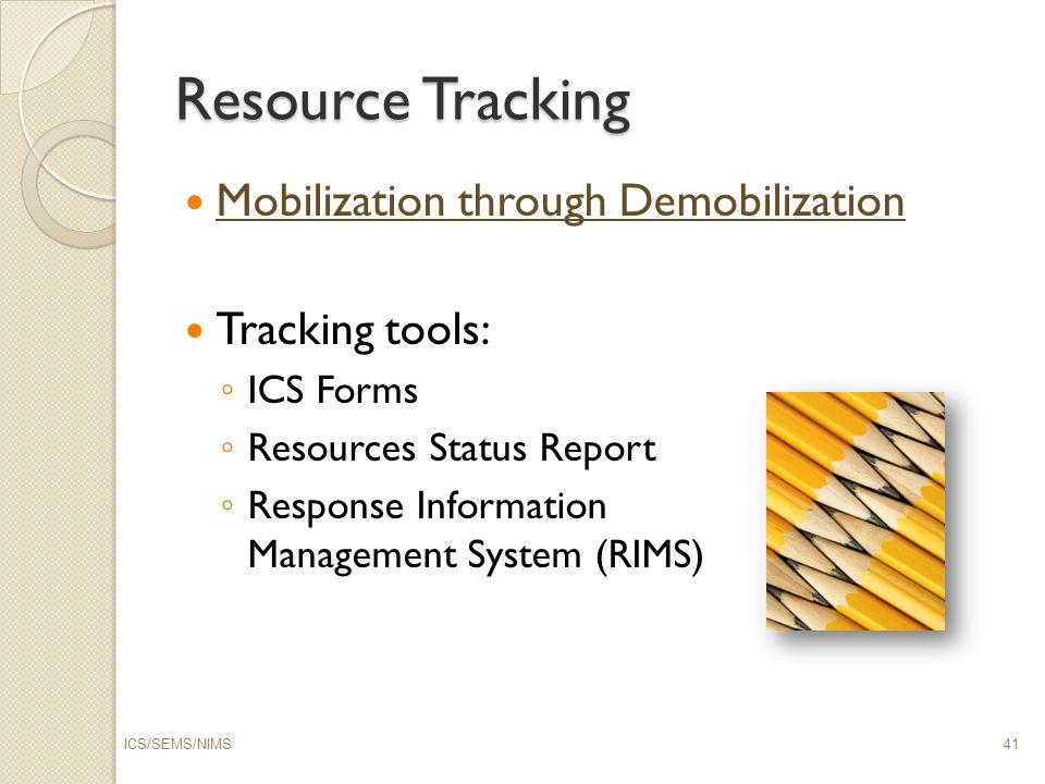 ICS/SEMS/NIMS Combo Class - ppt download