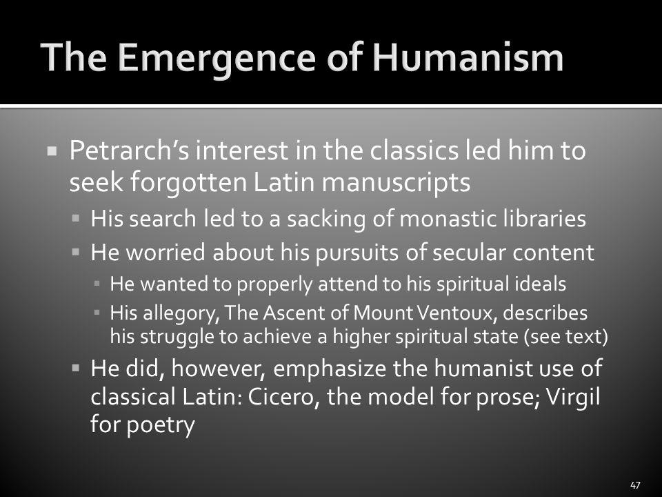 petrarca mont ventoux lateinischer text