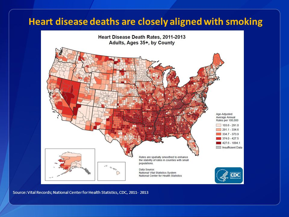 Tobacco Control A Winnable Battle Ppt Video Online Download - Smoking rates us map