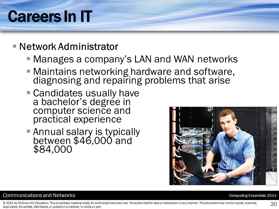 Careers In IT Network Administrator
