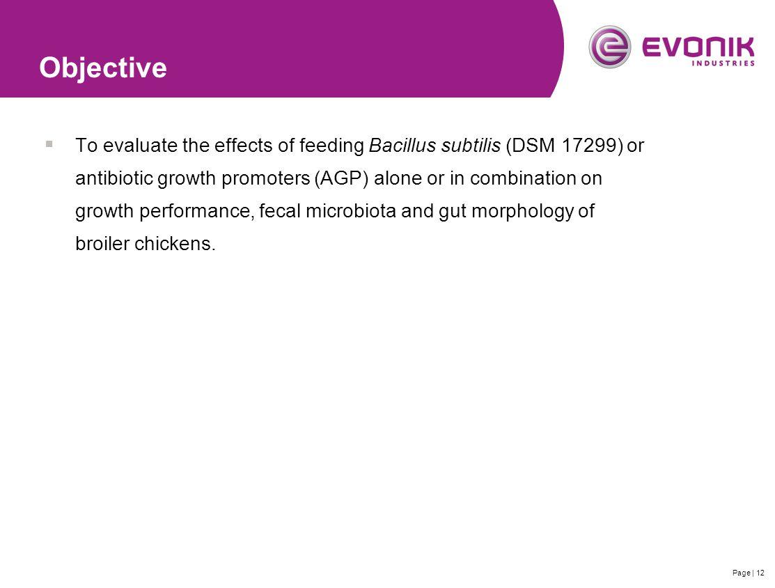 Efficacy of Bacillus subtilis based probiotic growth ...