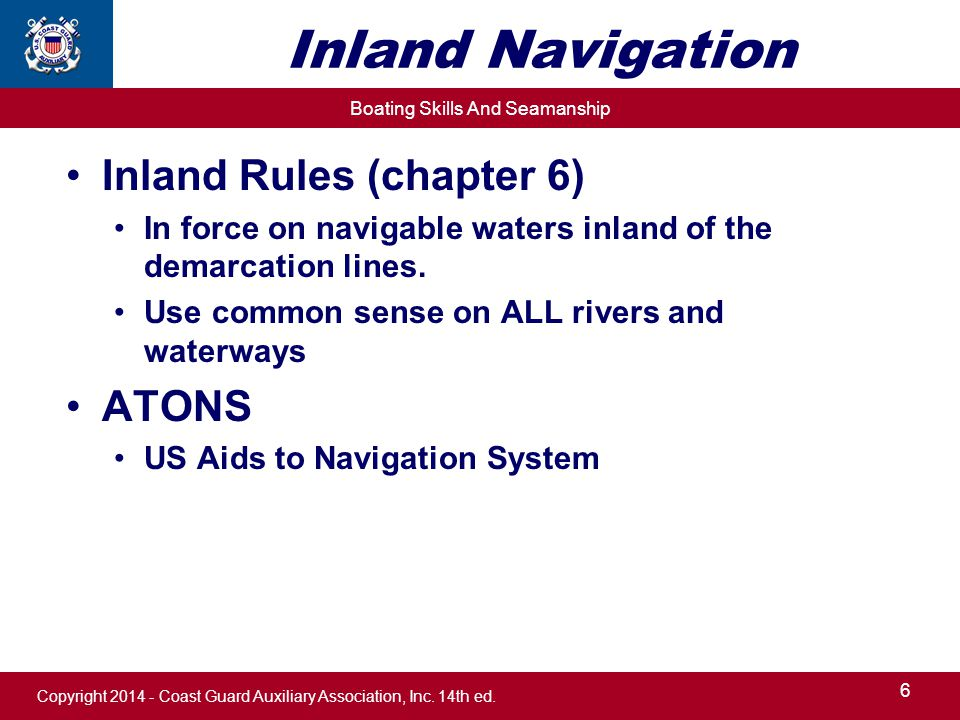 7 inland boating chapter ppt video online download us aids to navigation system inland navigation inland rules chapter 6 atons sciox Choice Image