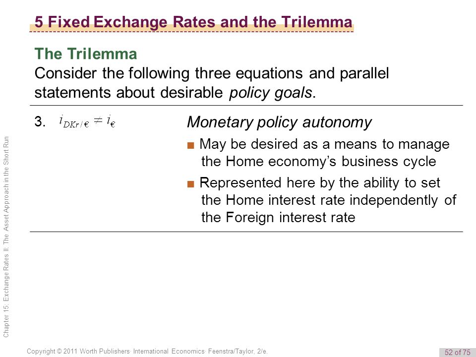 the role of monetary policy in managing the exchange rate Exchange rates and monetary policy   school/aqr asset management institute's  the overall importance of monetary policy in explaining exchange rate.