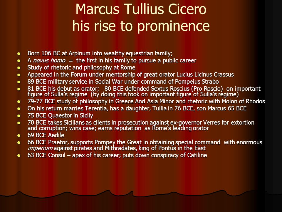 cicero s exile in 58 bc Research my dissertation, rhetoric and roman values in cicero's reception of plato in the 50's bc (a most decisive decade that begin with cicero's exile in 58-57 bc and ended with caesar's crossing of the rubicon in 49 bc).