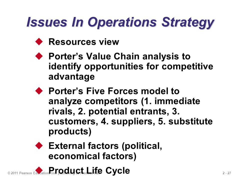 strategic operations issues A strategic question  issues strategy consulting firms  currently i am pursuing my major in operations and business strategy for moving into management.