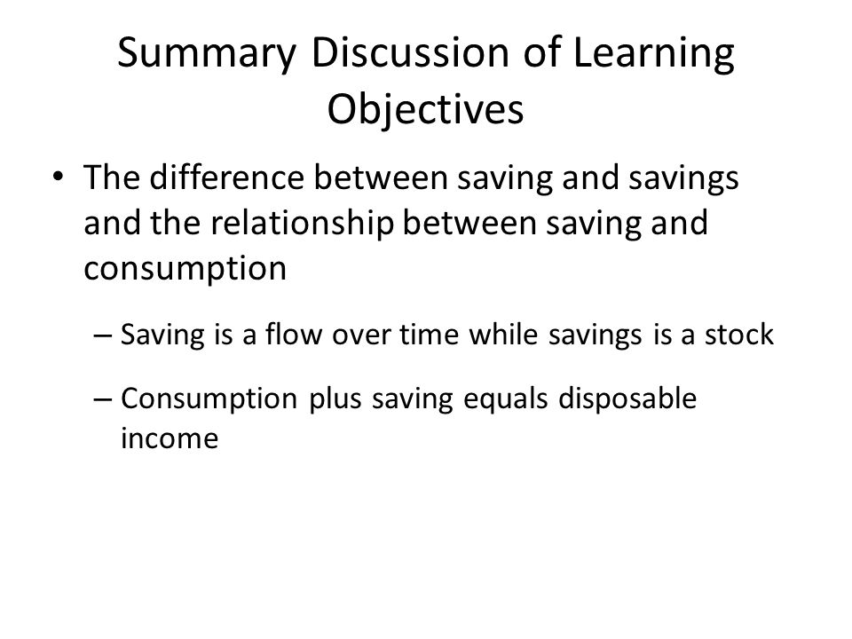 a discussion on differences between saving and investing The differences between saving and investing savings accounts, checking accounts, and certificates of deposit (cds) help you put money away in a safe place for use in the future.