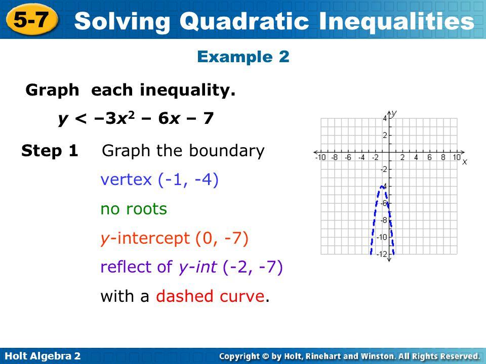 quadratic inequalities examples with solution pdf