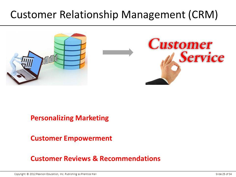 Customer relationship management marketing