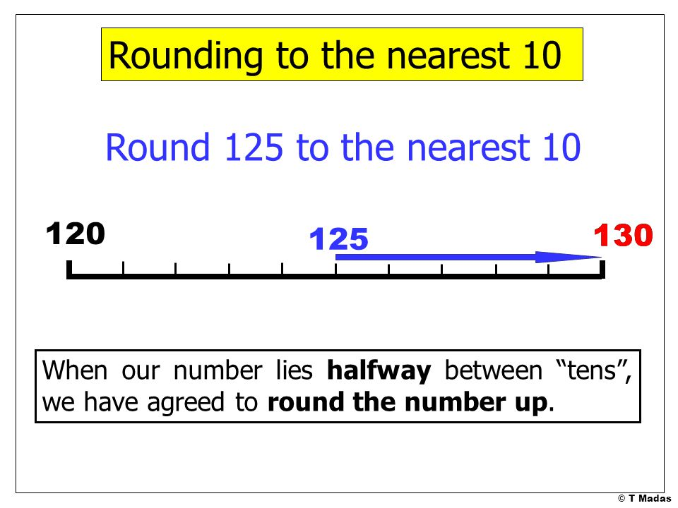 rounding numbers part 1 169 t madas ppt download