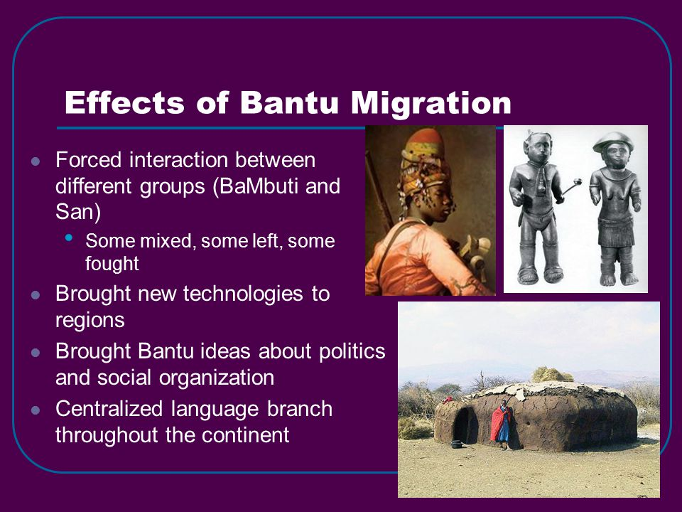 what are the effects of migration in africa The impact of colonialism on african economic development  the imposition of colonialism on africa altered its  effects of the berlin conference which.