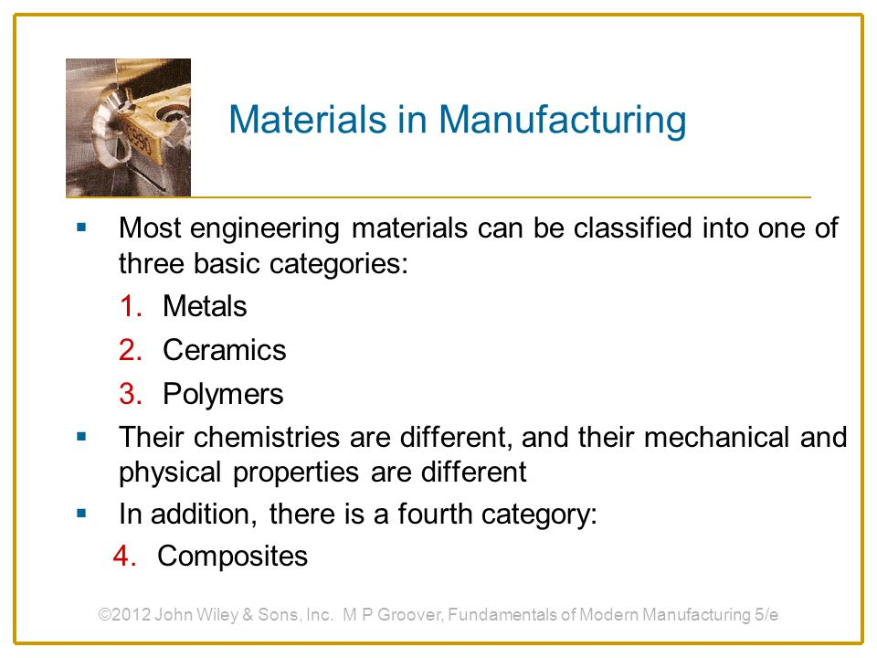 Introduction And Overview Of Manufacturing Ppt Download